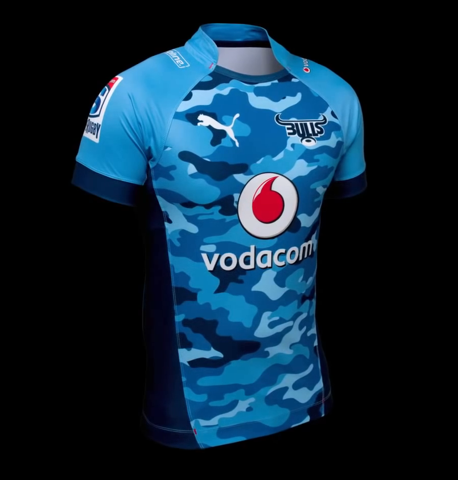 vodacom bulls super rugby 2014 puma home alternate shirts rugby shirt watch. Black Bedroom Furniture Sets. Home Design Ideas