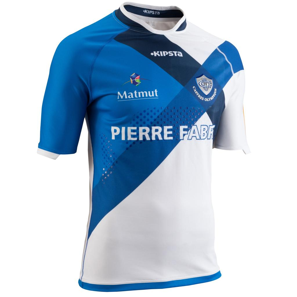 Castres Olympique 2014 15 Kipsta Home Alternate Shirts