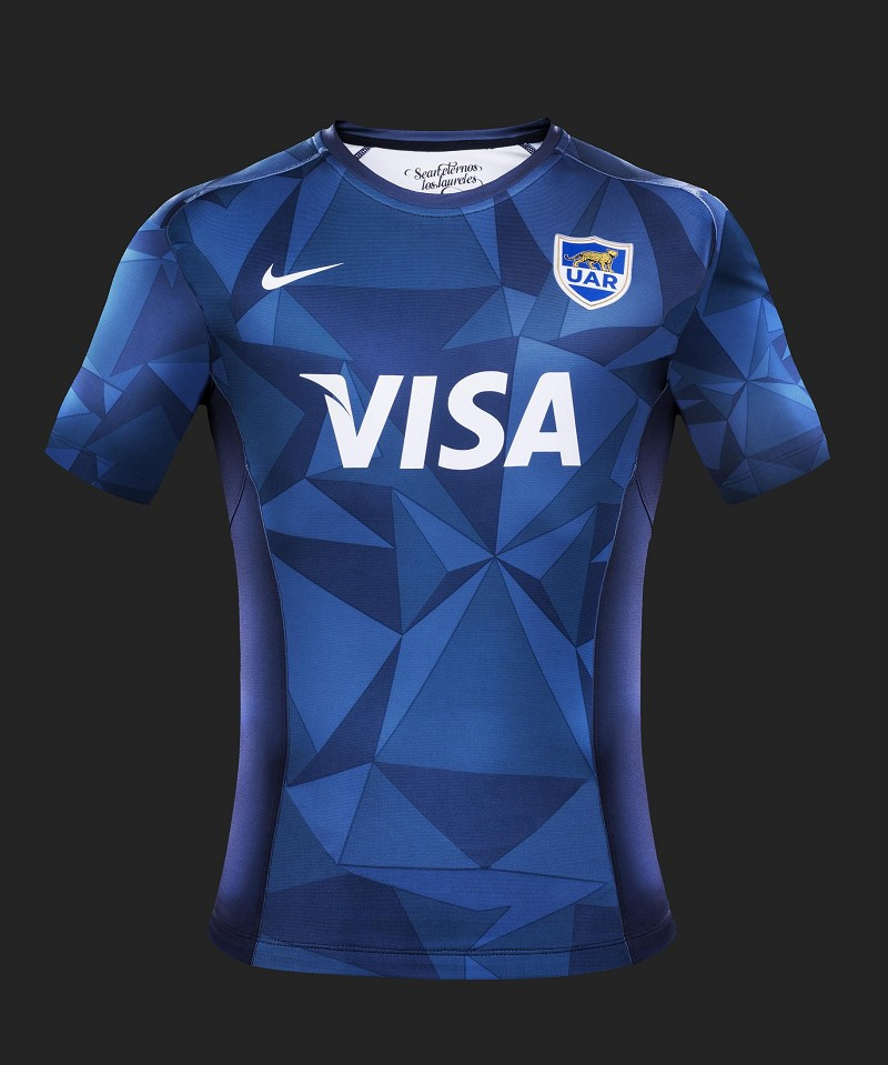 Argentina pumas 2014 15 nike alternate shirt rugby shirt watch