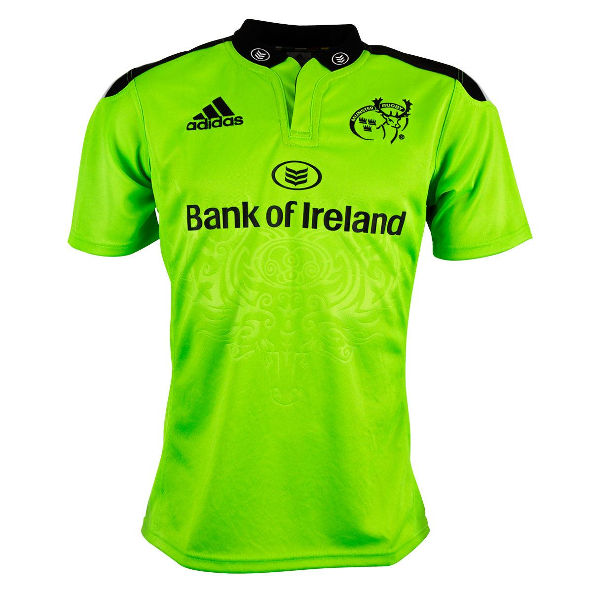Leinster Rugby Season 2014 15 So Far: Munster 2014/15 Adidas Alternate Shirt