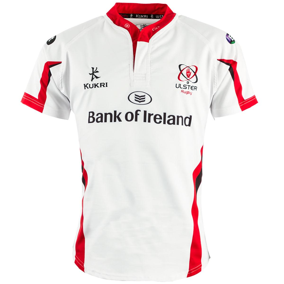 dc6f26f889a Ulster Rugby 2014/15 Kukri Home & Alternate Shirts – Rugby Shirt Watch