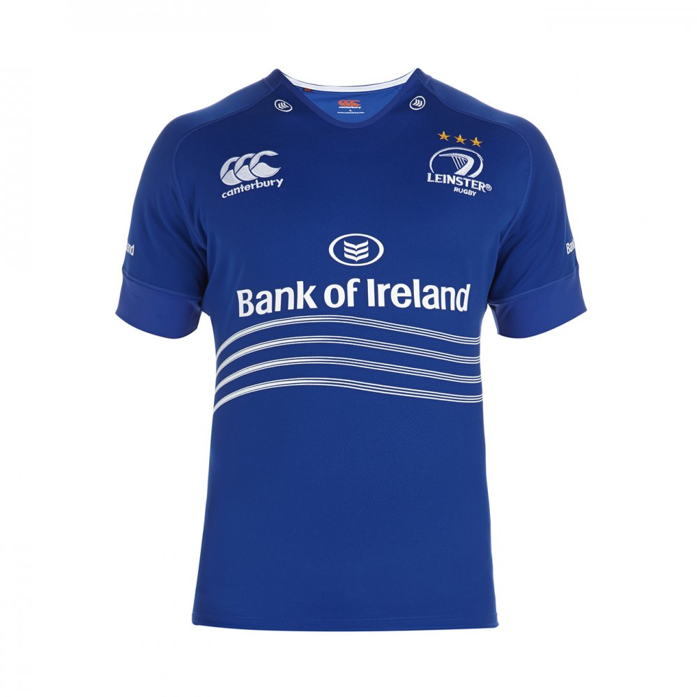 0a0e6e78ce1 Leinster Rugby 2013/15 Canterbury Home & Alternate Shirts – Rugby ...