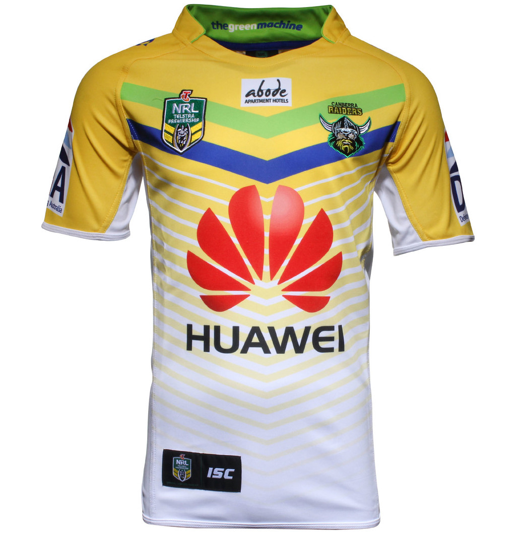 3fff88a62 Canberra Raiders NRL 2015 ISC Home   Alternate Shirts – Rugby Shirt ...