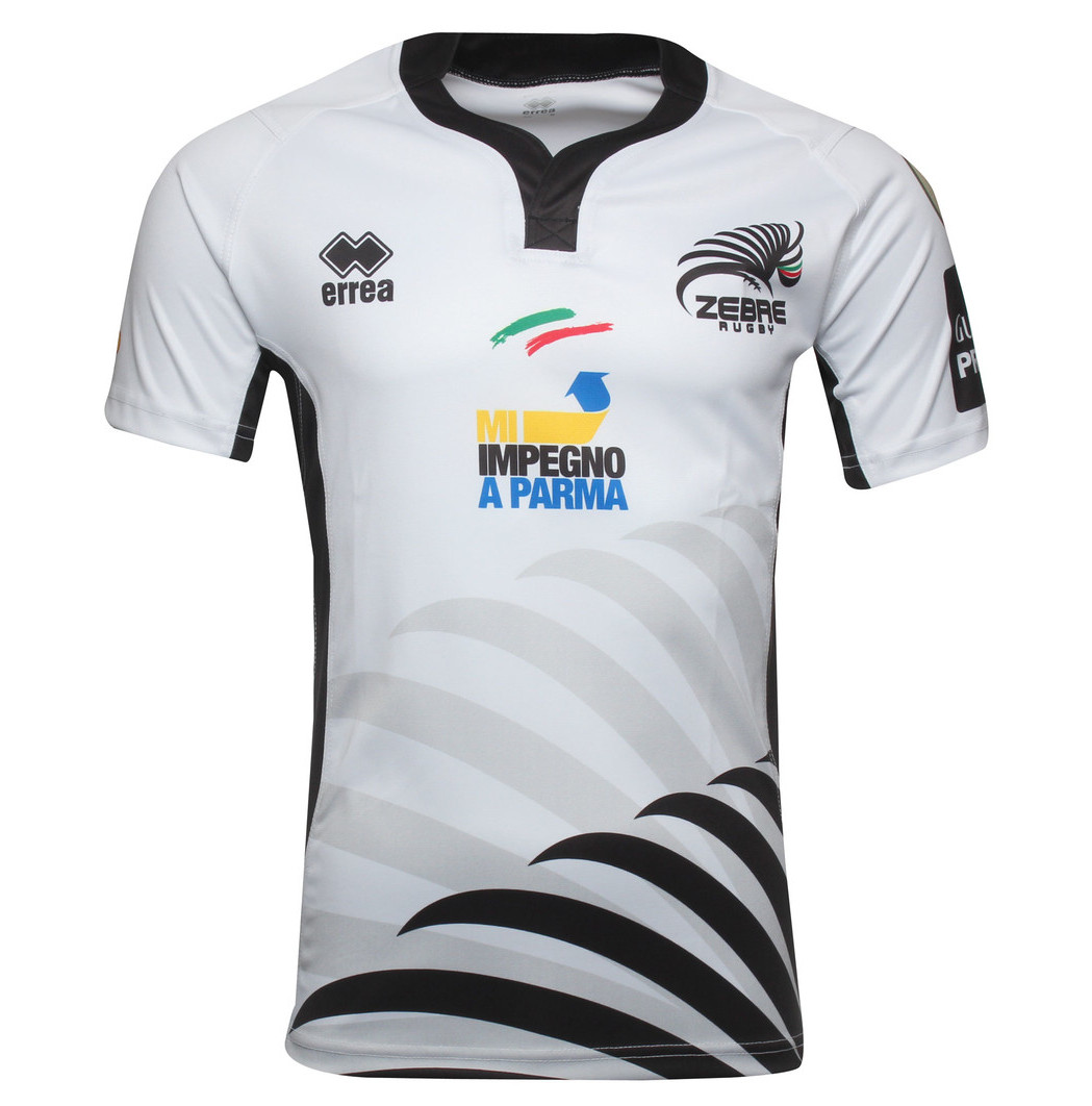 4 Year Old Rugby Boots: Zebre Rugby 2014/15 Errea Home & Alternate Shirts