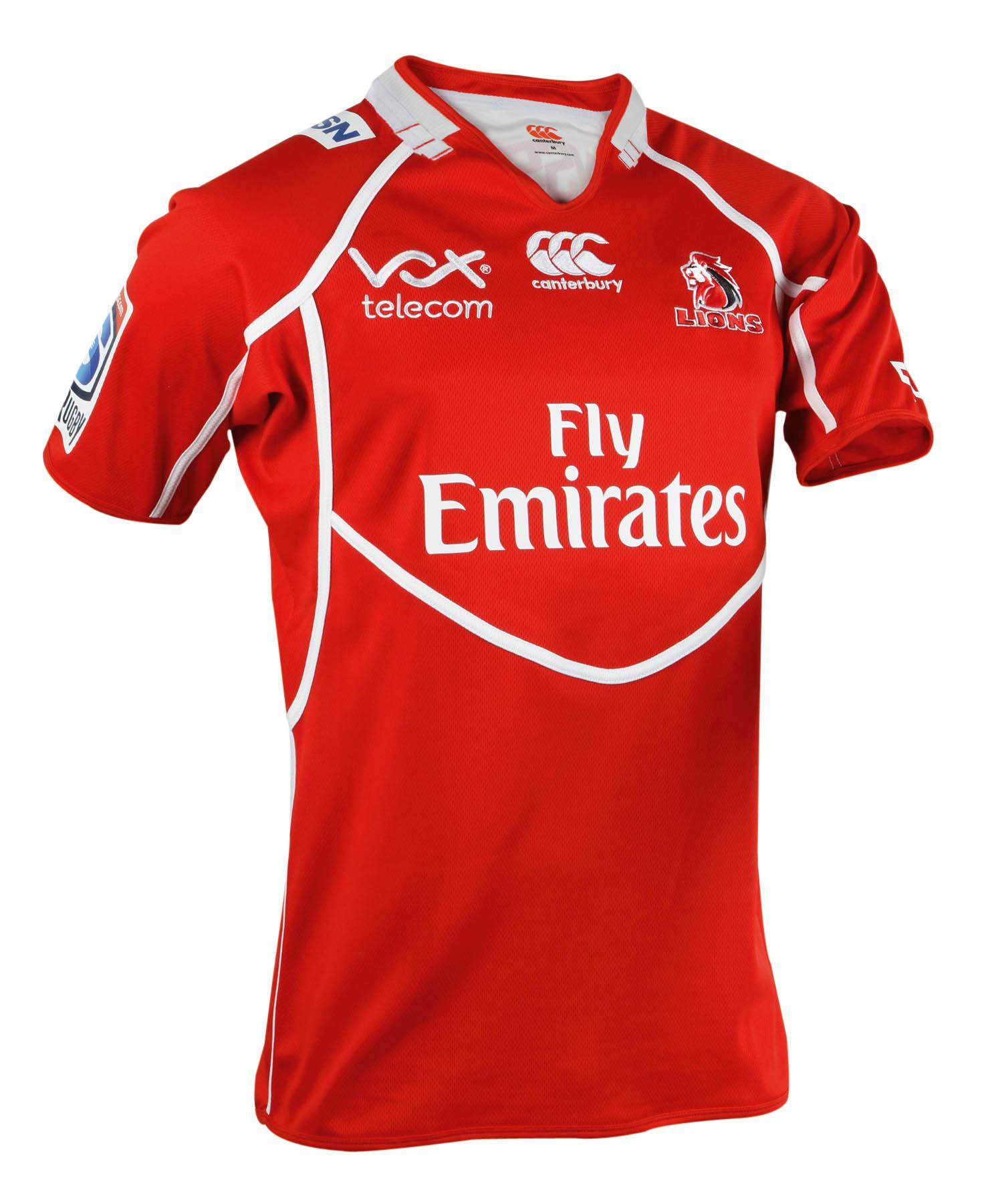 canterbury lions jersey
