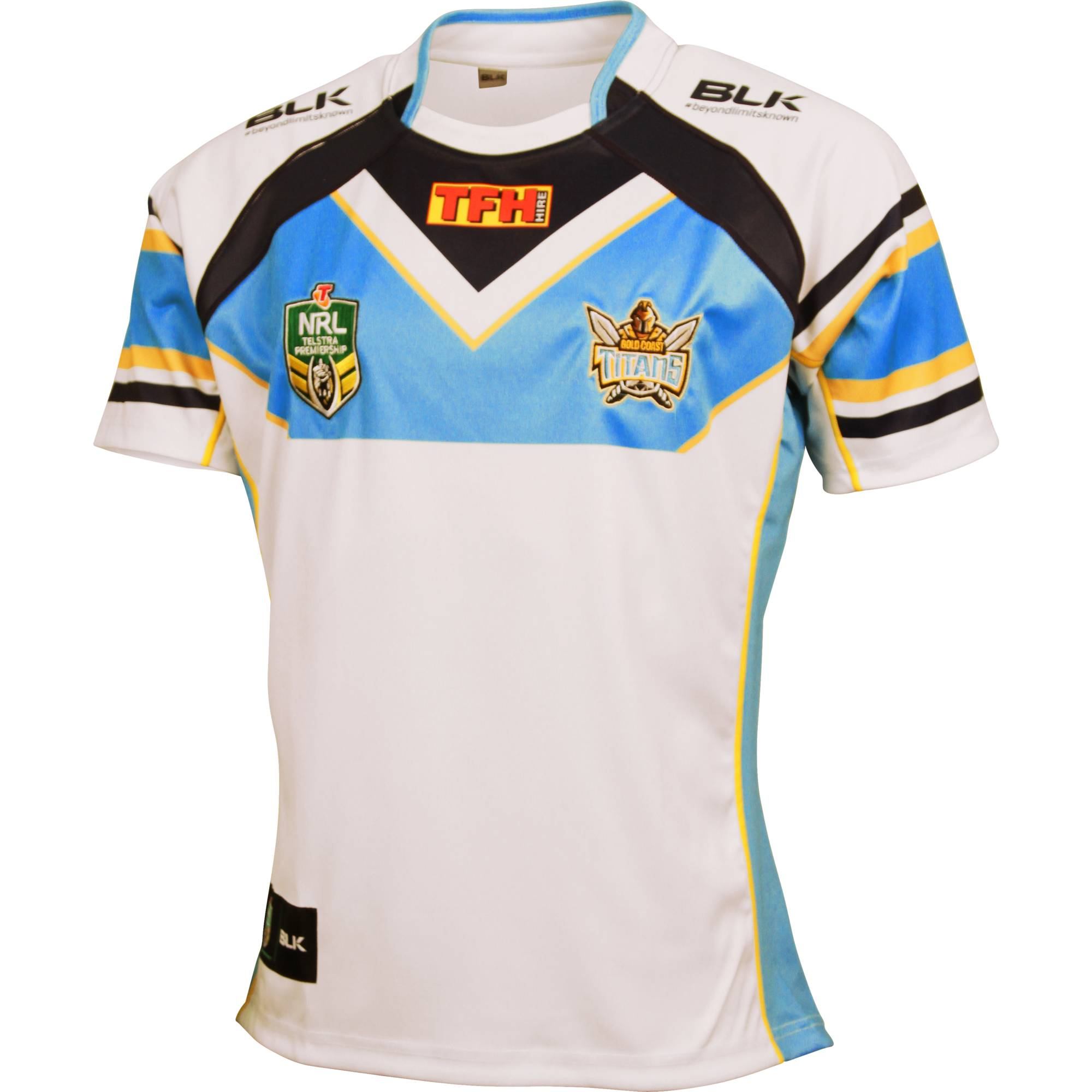 Gold Coast Titans NRL 2015 BLK Home