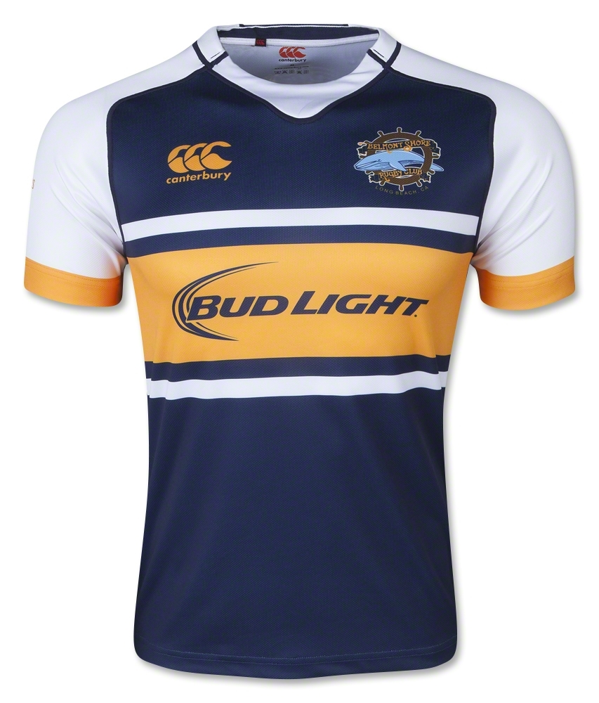 38b0701a9 Belmont Shore RFC Pacific Rugby Premiership 2015 Canterbury Home Shirt