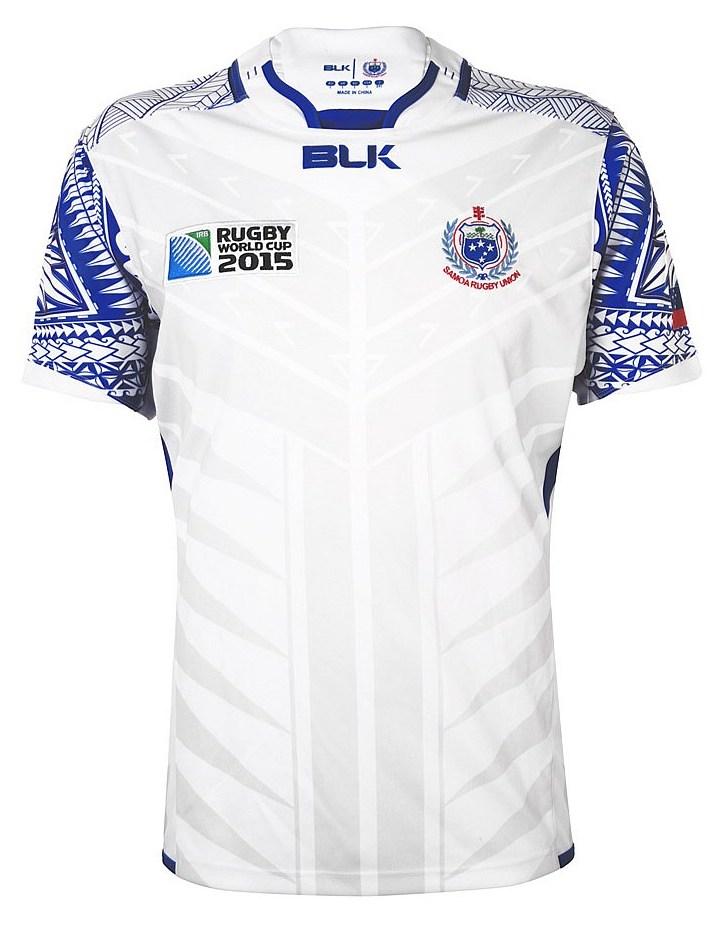 Manu Samoa Rugby BLK Rugby World Cup 2015 Alternate Shirt