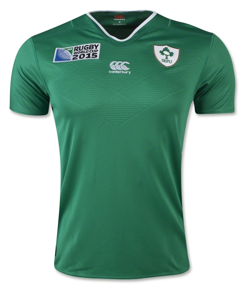 Ireland Rugby Canterbury Rugby World Cup 2015 Home Shirt