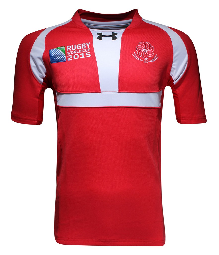 Camisetas de la Rugby World Cup 2015