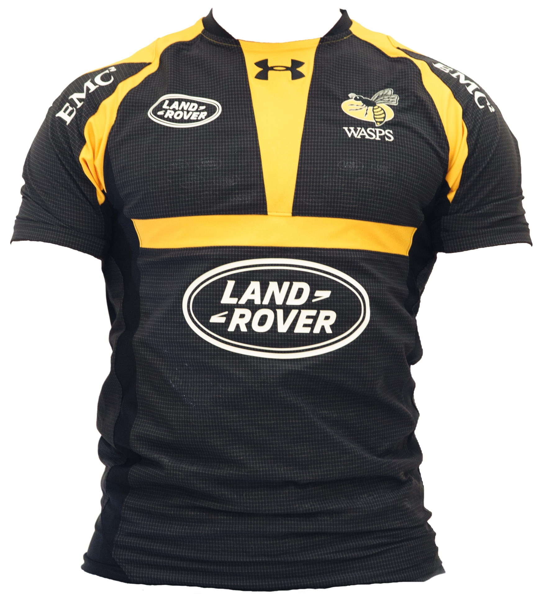 e7f6eae68f4 Wasps RFC Under Armour 2015/16 Home & Alternate Shirts – Rugby Shirt ...