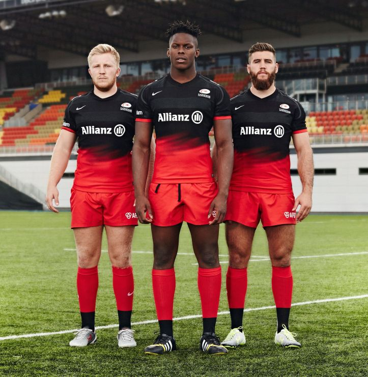 Saracens - Kit Launch 15-16_Home