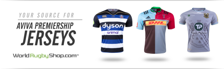 Click to shop Premiership jerseys