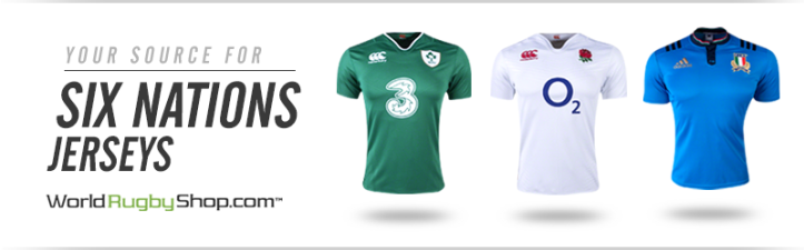 Click to shop Six Nations jerseys