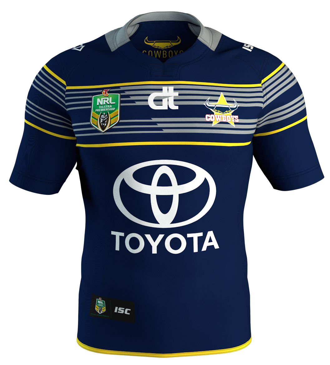 North Queensland Cowboys 2016 ISC Home, Away, Indigenous and World ...