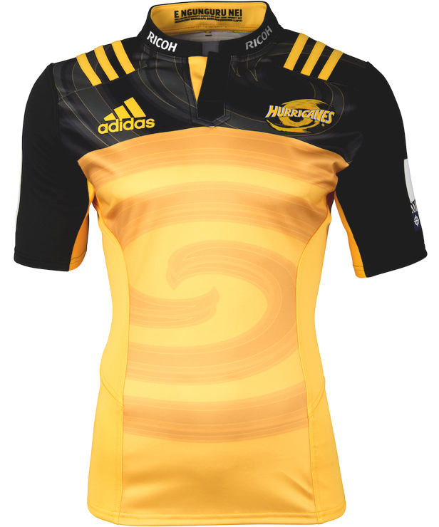 4 Year Old Rugby Boots: Hurricanes Super Rugby 2016 Adidas Away Shirt