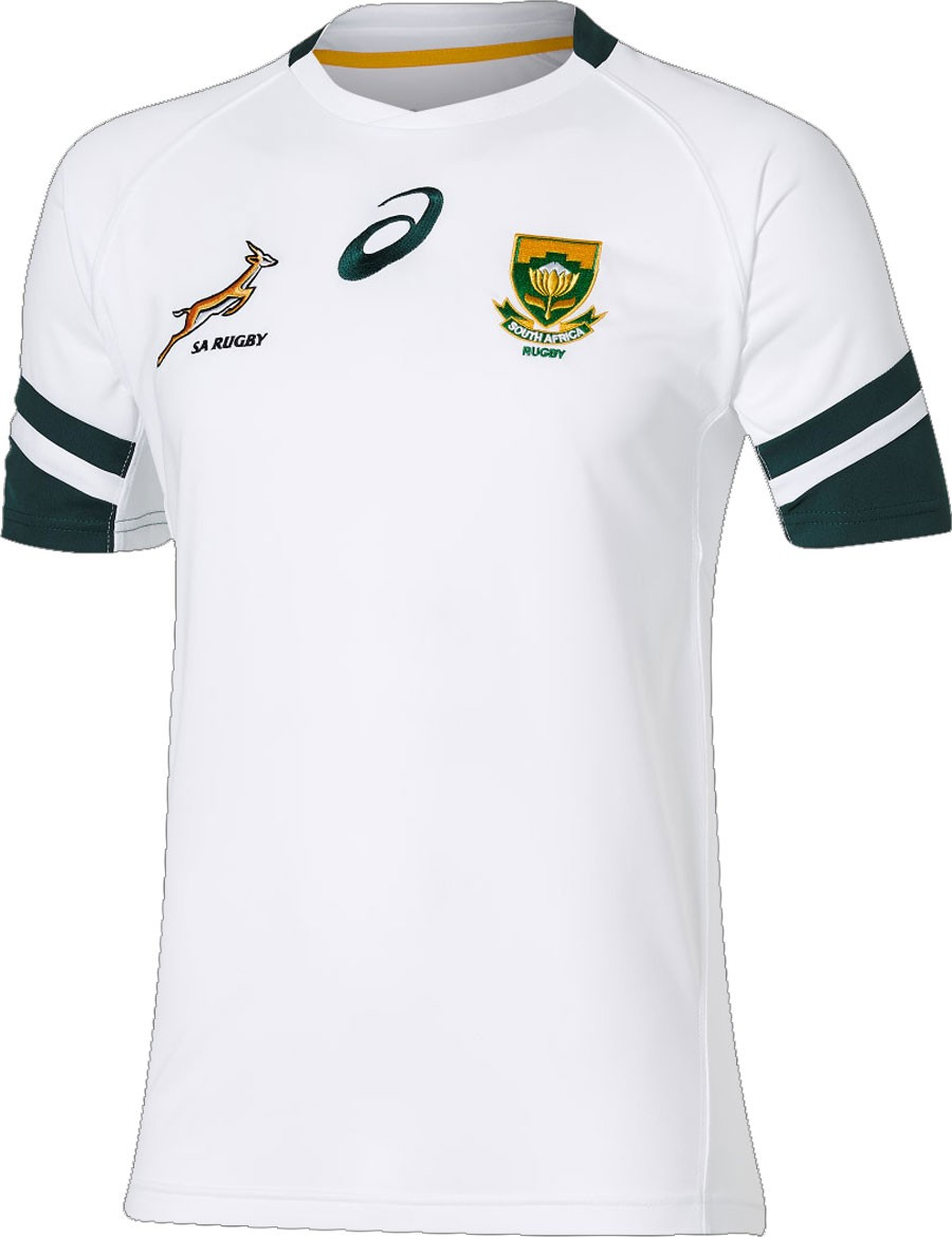 d452783c9c1 South Africa Springboks 2016/17 ASICS Home & Alternate Shirts – Rugby Shirt  Watch