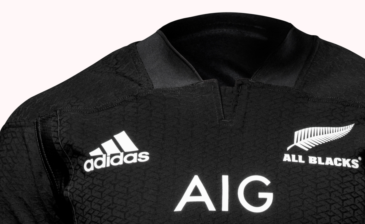 1c5cfba356d New Zealand All Blacks Adidas 2016/18 Home Shirt – Rugby Shirt Watch