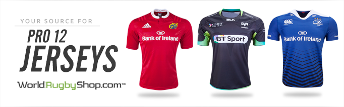 ca518ccfdd0 Leinster Rugby 2013/15 Canterbury Home & Alternate Shirts – Rugby Shirt  Watch