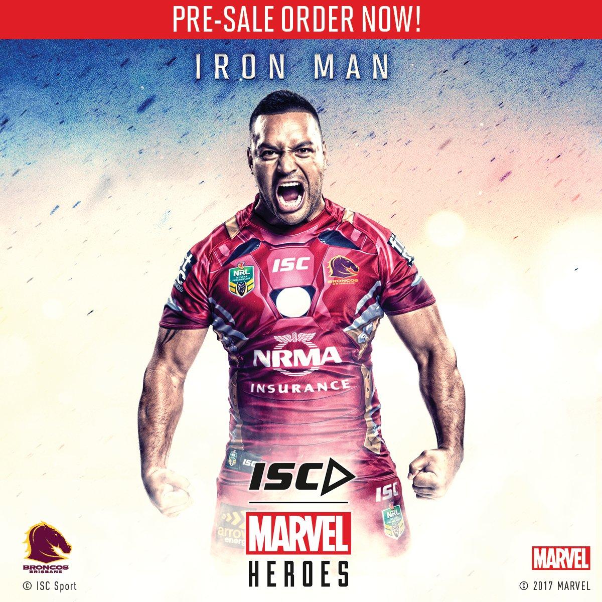 e900bb7c2f7 NEWS: ISC reveals 2017 NRL Marvel Heroes 3 Superhero jerseys – Rugby ...