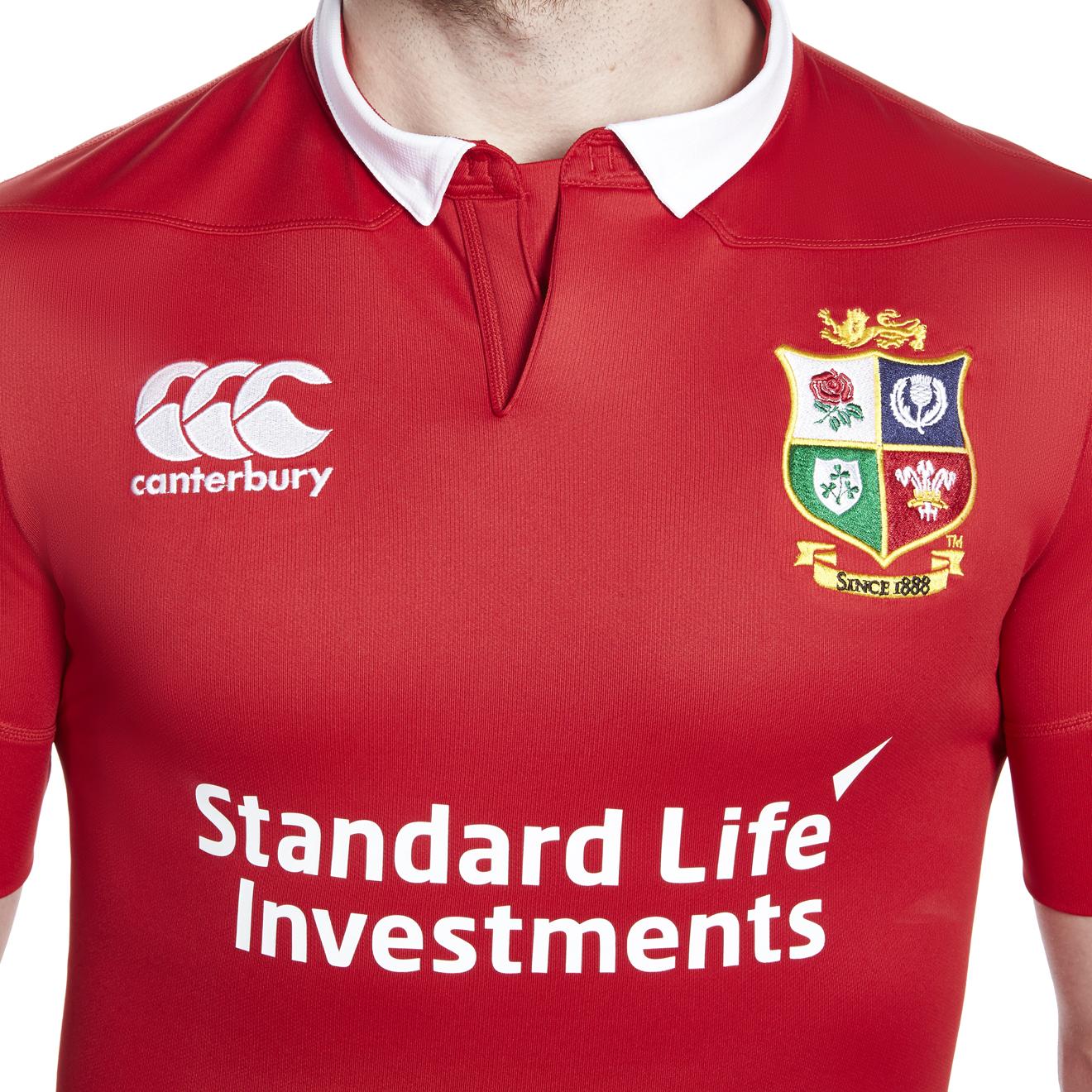 Canterbury British & Irish Lions Elite jersey – hands on | Rugby ...
