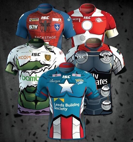 a9f34758a36 NEWS: ISC launches Super League Marvel Heroes UK jerseys – Rugby Shirt Watch