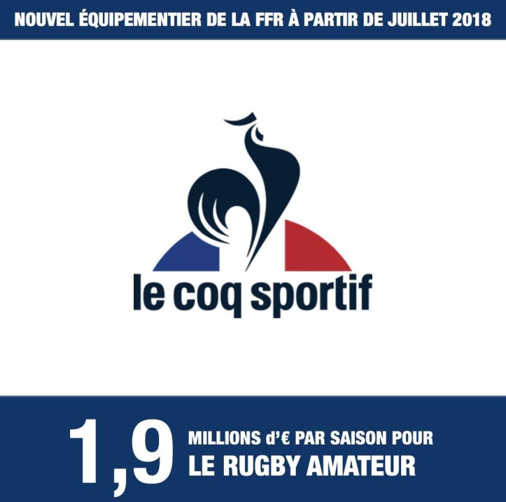 37efbac060b The FFR has announced that the France national team will have a new kit  supplier from 2018 onwards in the shape of reborn French sportswear  institution