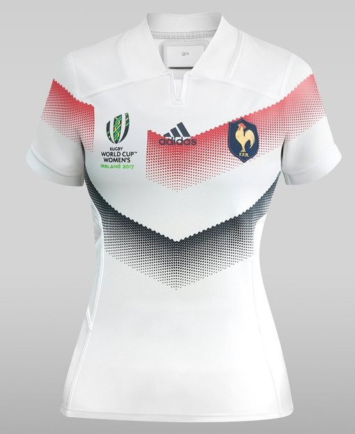 new styles 72346 af051 NEWS: France Women unveil Women's Rugby World Cup 2017 ...