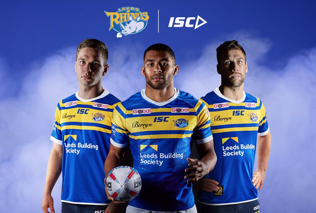 be8f5d0fdd8 Reigning Super League champions Leeds Rhinos have revealed a brand new home  shirt that they'll wear for their 2018 league and cup campaigns.