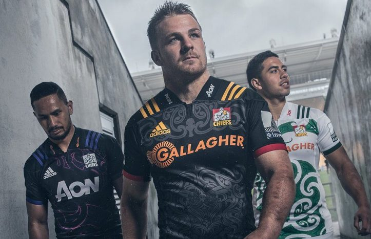 bc05685aa7b As with the other New Zealand Super Rugby sides, the Chiefs will be wearing  their heavily Maori-inspired 2018 jerseys for another year this season.