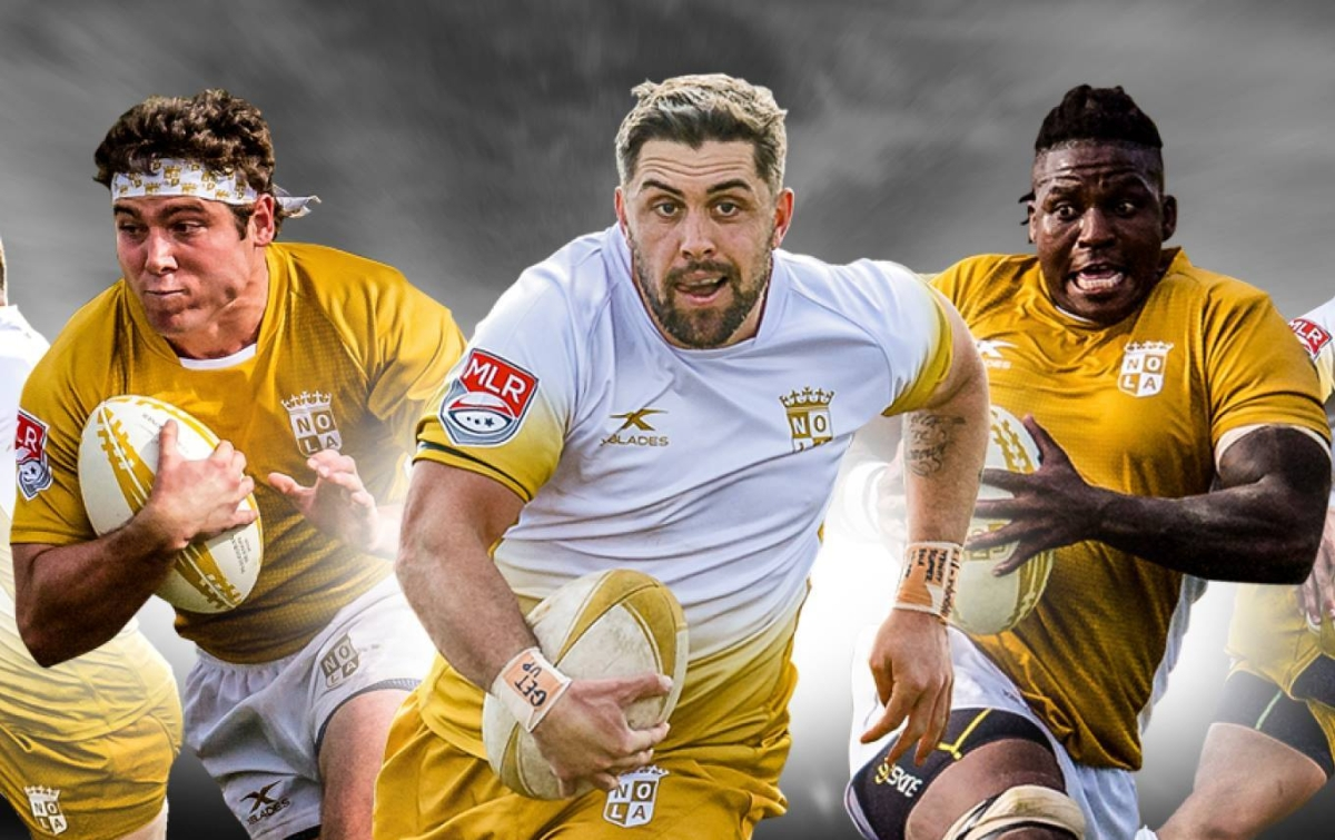 08bf86846e4 New Orleans Gold MLR 2018 XBlades Home & Away Shirts – Rugby Shirt Watch