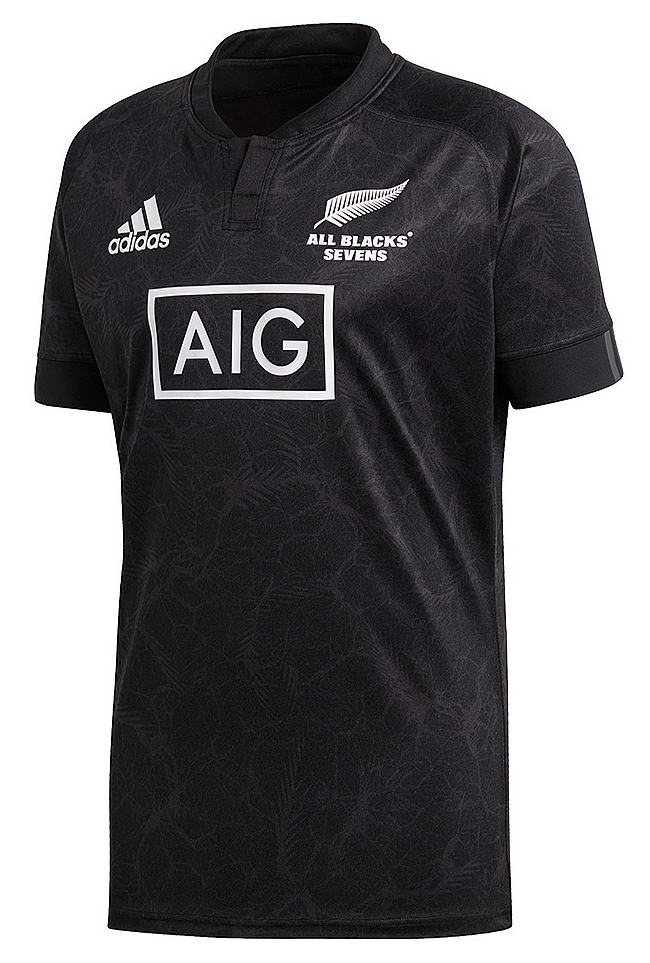 All Blacks Sevens Rugby World Cup Sevens 2018 Adidas Jersey.  112367 378507 250083 0b126993a