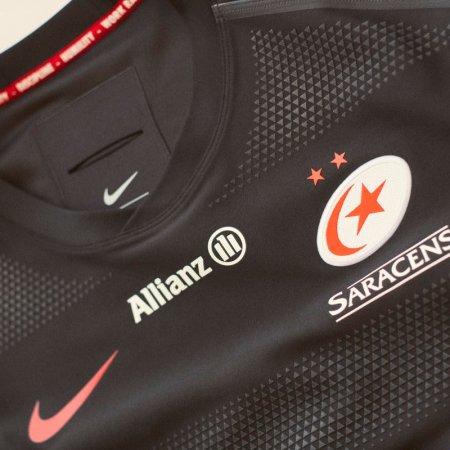 a89ce37ebb262 Saracens 2018 19 Nike Home Shirt