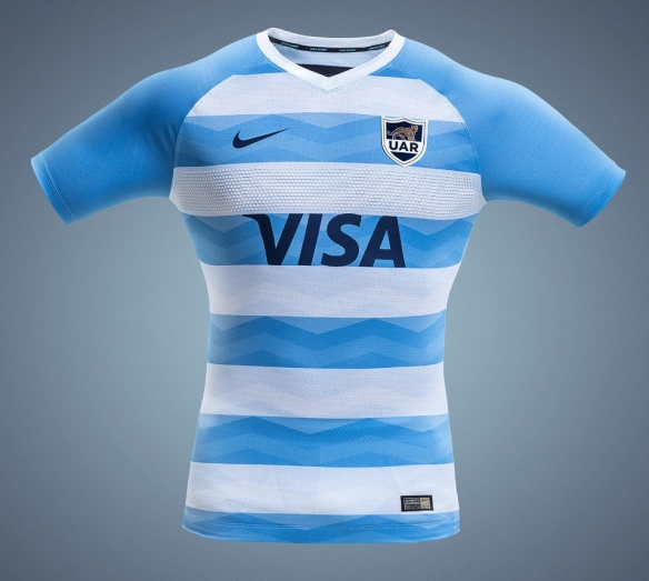 Descifrar Tulipanes salud  Review: Argentina Pumas 2018/18 Nike Home & Alternate Shirts | Rugby Shirt  Watch