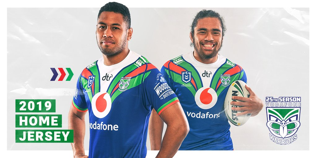 News New Zealand Warriors Reveal 90s Inspired 2019