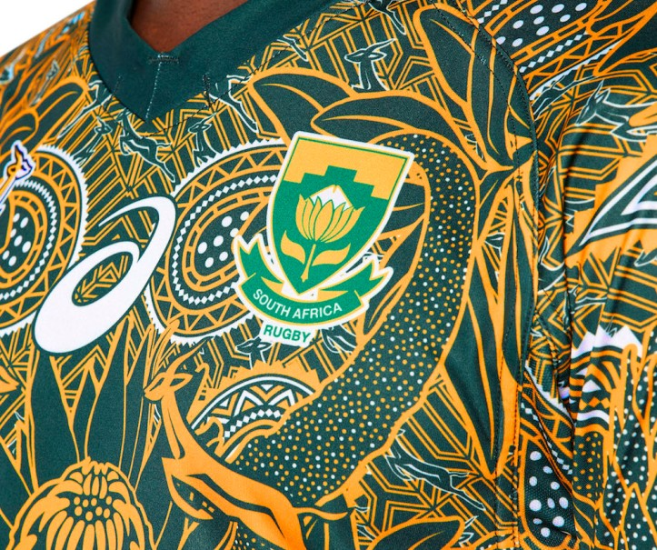 2e60a0e00b4 The pattern is inspired by the bright and colourful 'Madiba' shirts that  Mandela became famous for the world over, celebrating the relationship  between him ...