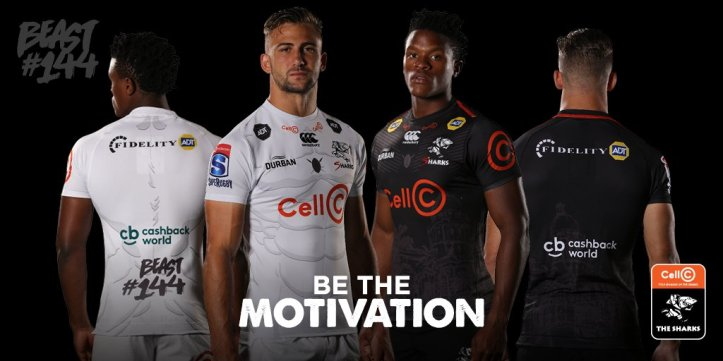 5675e9b402f NEWS: Cell C Sharks reveal Canterbury Super Rugby 2019 jerseys ...