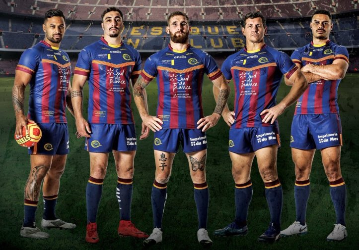 b59027823 Catalans Dragons have revealed a special one-off kit that the Super League  side will wear for their match against Wigan Warriors