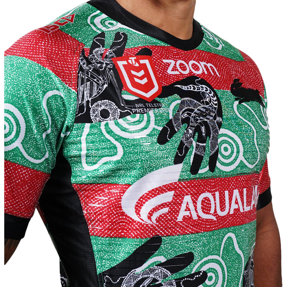 News South Sydney Rabbitohs Reveal 2019 Indigenous Jersey Rugby Shirt Watch