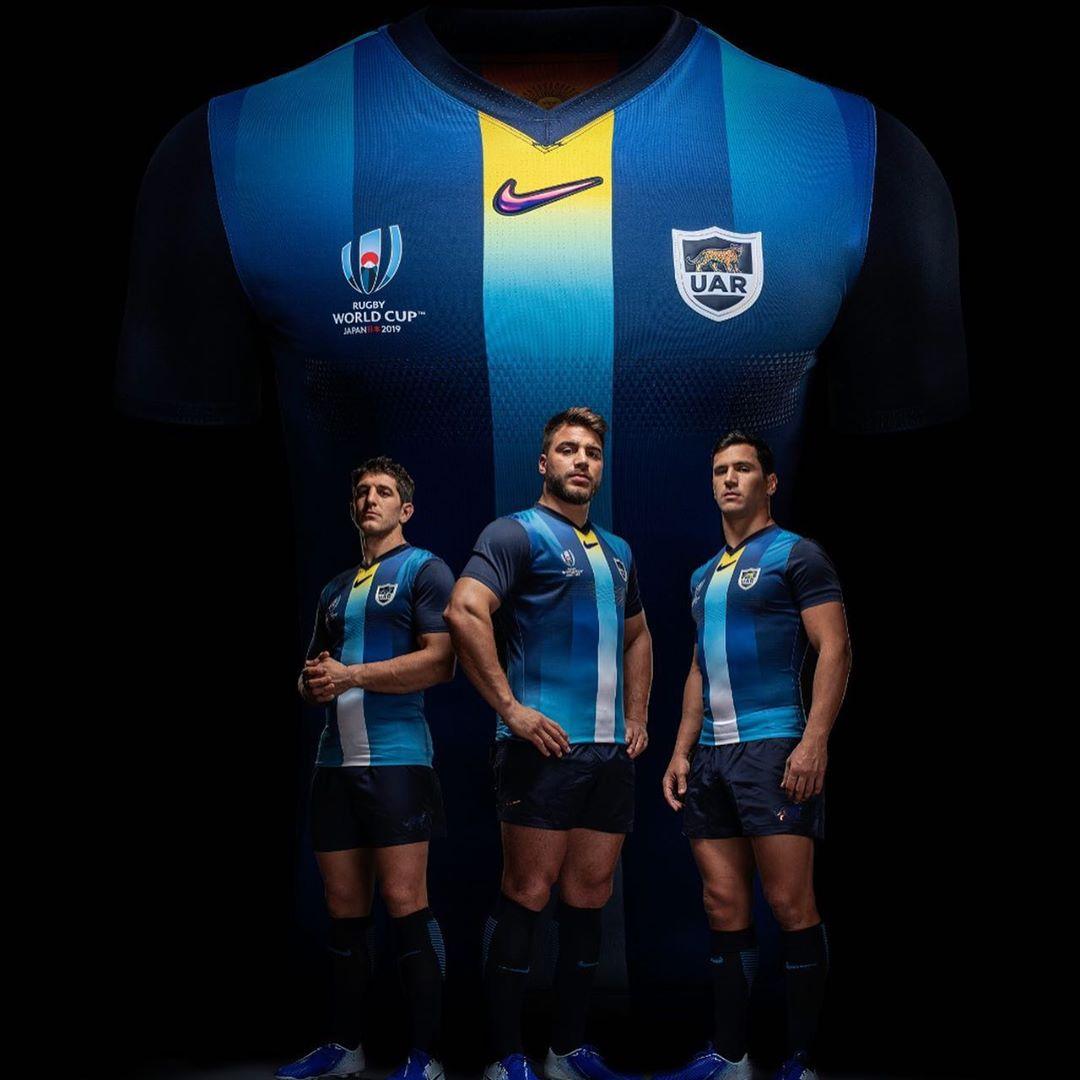 Optimismo Sesión plenaria bendición  NEWS: Argentina Pumas reveal RWC2019 jerseys | Rugby Shirt Watch