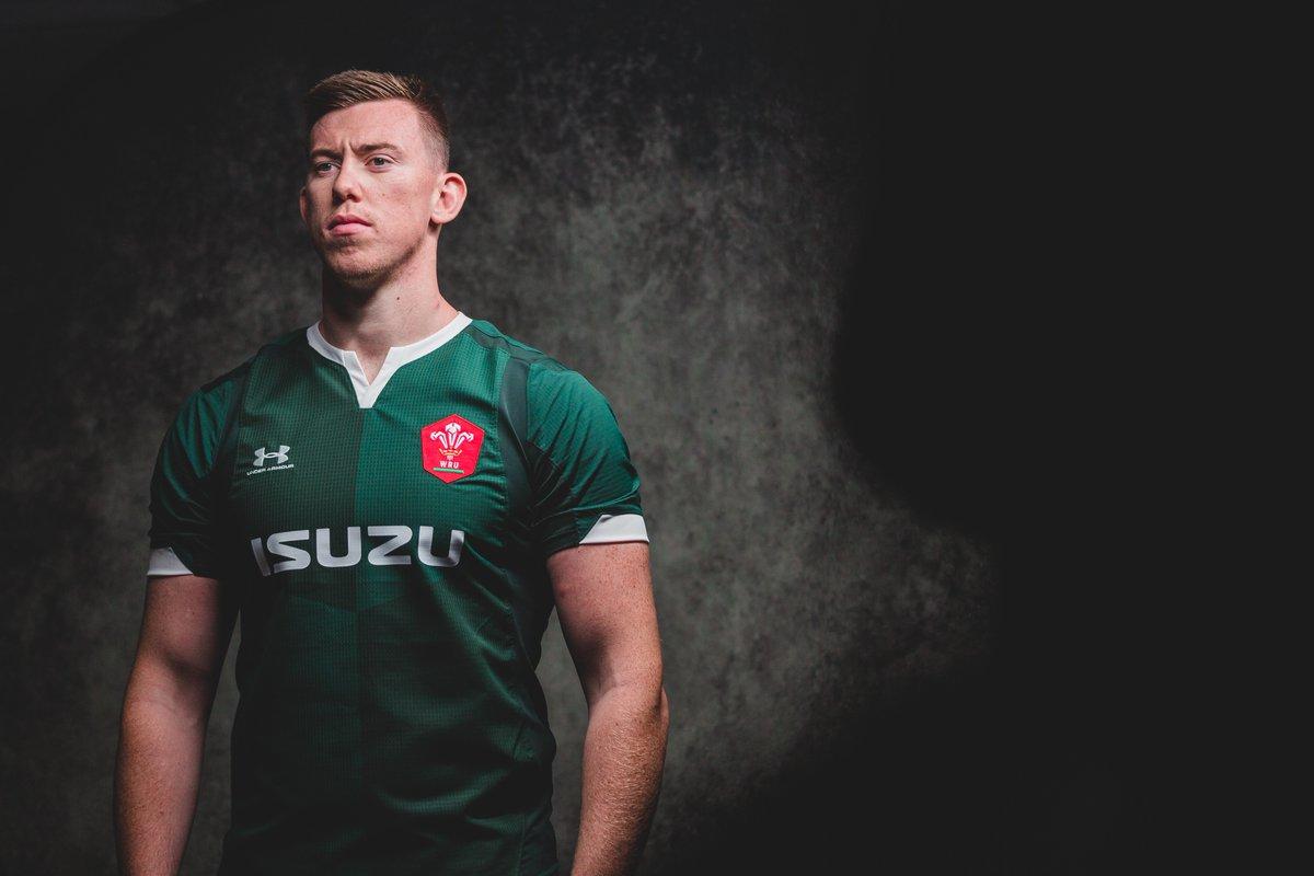 Under Armour Mens Wales RWC 2019 Alternate Shirt
