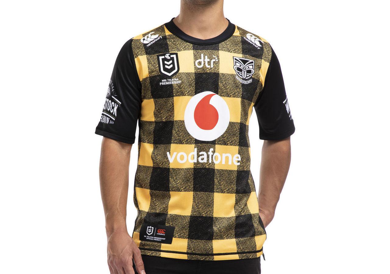 "The New Zealand Warriors 'Bush Shirt' jersey branded ""the worst ..."