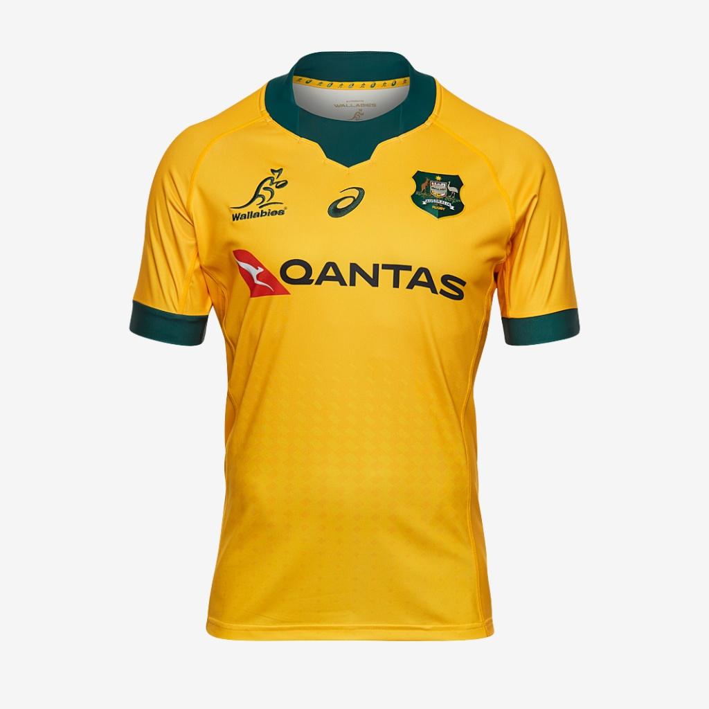 News Australia Reveal 2020 Wallabies Indigenous Jersey Rugby Shirt Watch