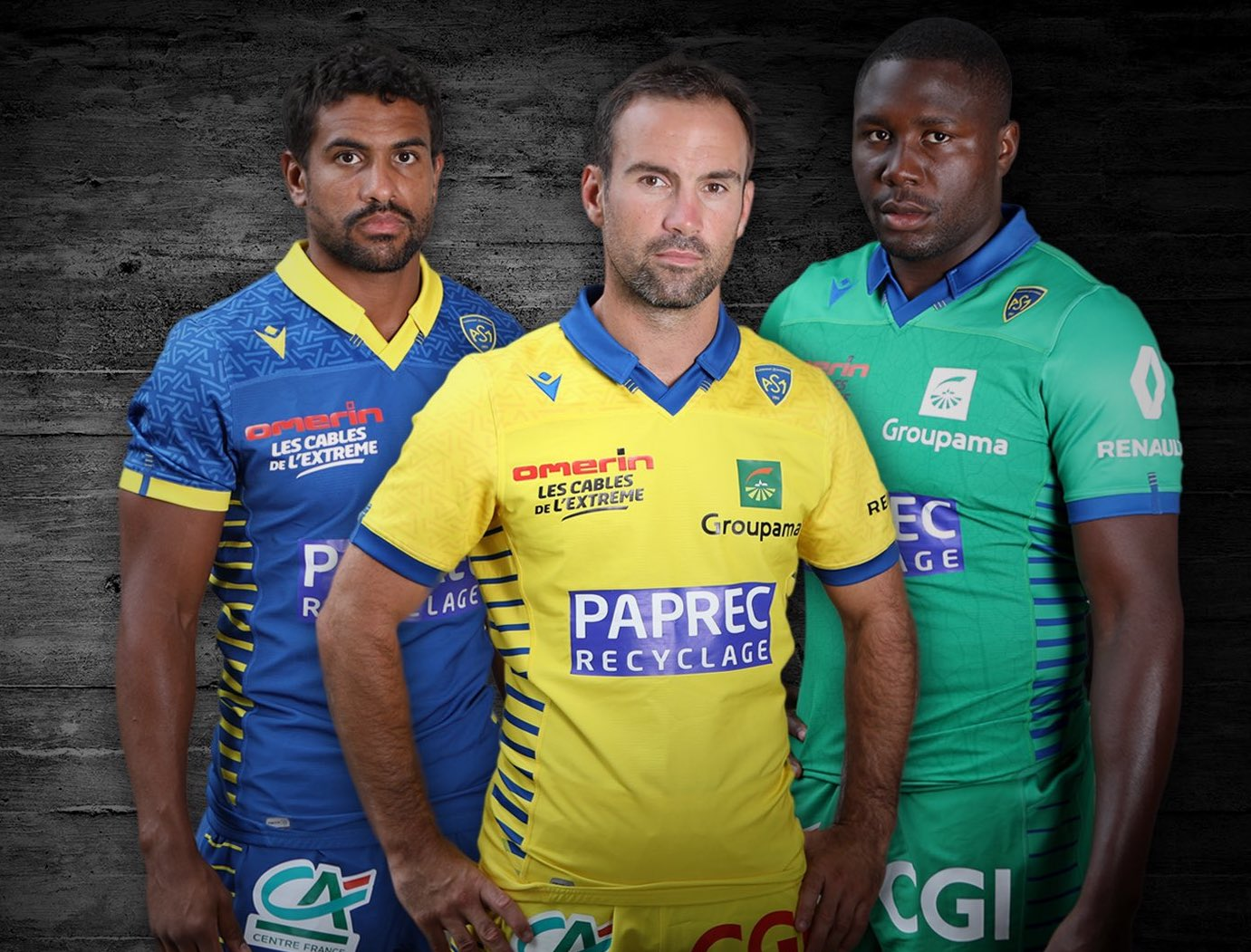 News Clermont Go Retro With Their First Macron 2020 21 Jerseys Rugby Shirt Watch