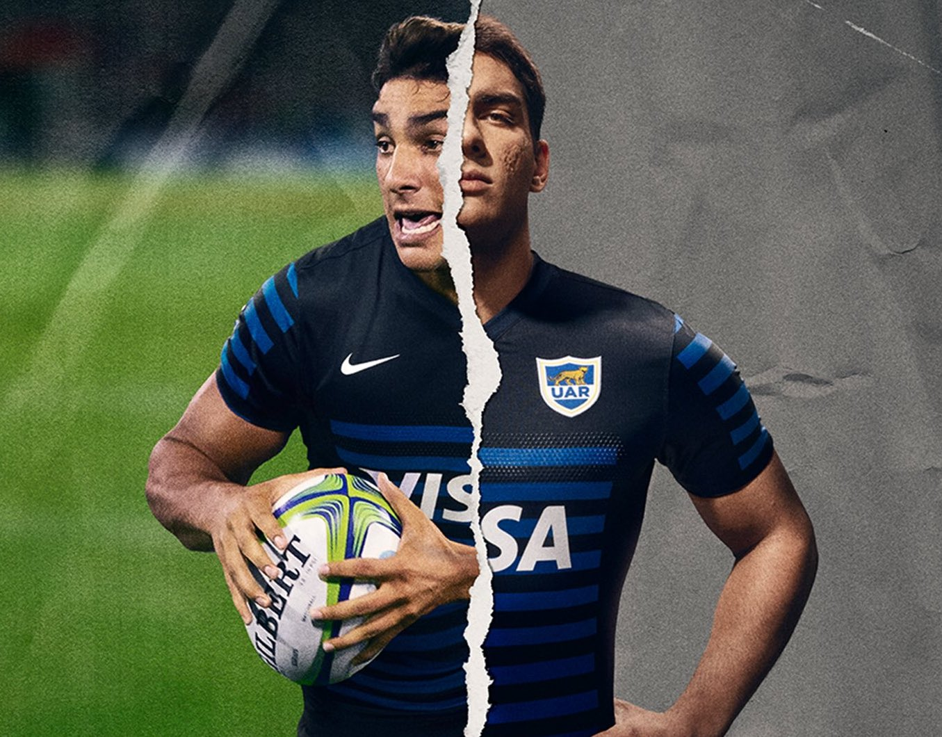 Elevado Birmania calor  Argentina's new jerseys are beautiful… because of course they are. | Rugby  Shirt Watch